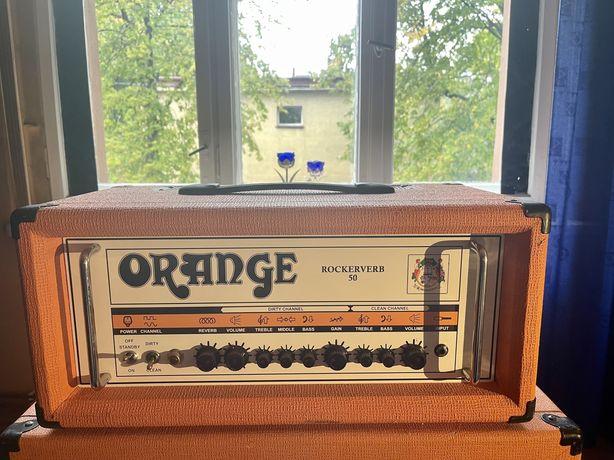Orange Rockerverb 50 Mk 1