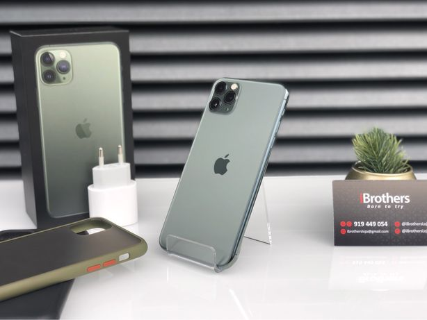 iPhone 11 Pro Max Green 64GB Desbloqueado c/Fatura e Garantia Apple