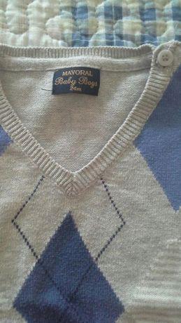 Camisola de menino 2 anos