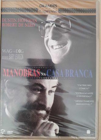 DVD Manobras na Casa Branca - Fechado