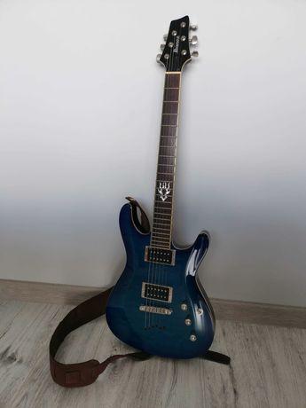 Ibanez SZ 520 QM BLL gitara elektryczna niebieska