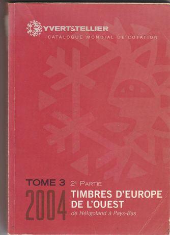 Catálogo Yvert & Tellier - 2004 - EUROPA - Letras H a P