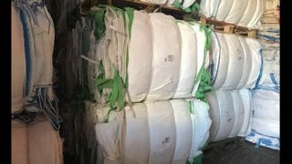 BIG Bag Bagi begi używane stabilne małe 70 cm wysokości na ZBOŻE owies