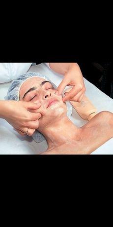 Массаж лица лимфодренажный
