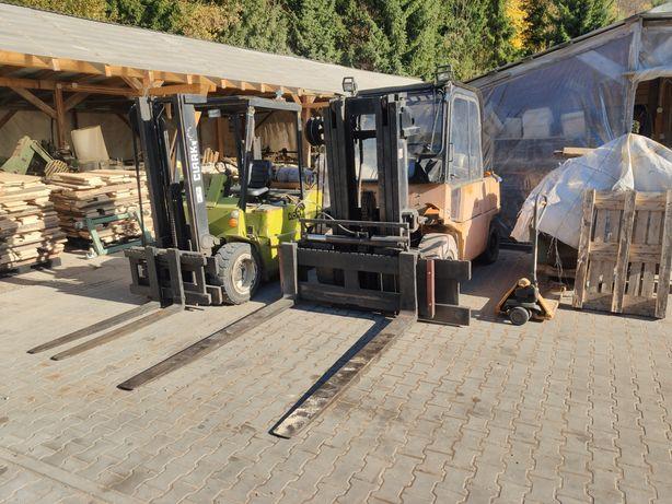 Wózek widłowy Toyota Yale Mitsubishi Clark LPG Diesel sprawne Rak MMM