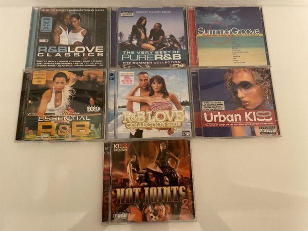 7 CD do melhor de R&B (Todos cd duplos)