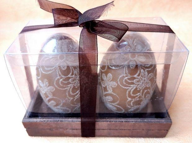 Свечи в форме яиц в подарочной упаковке, Нидерланды