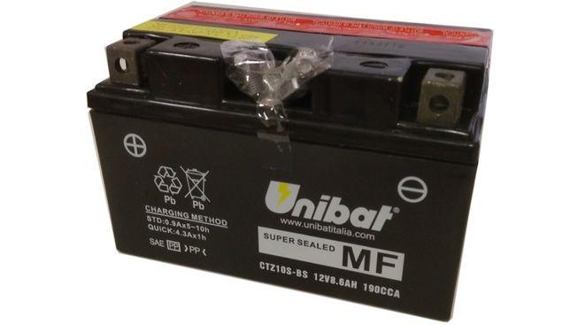 Akumulator Unibat AGM CTZ10S-BS YTZ10S-BS ETZ10S-BS 8,6Ah 190A 12VNOWY