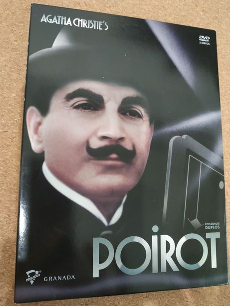 Filme DVD Poirot de Agatha Christie's