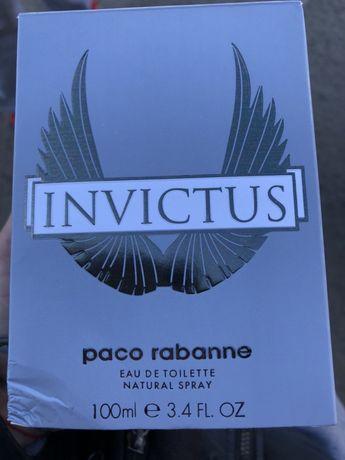 Invictus paco rabanne духи туалетная вода