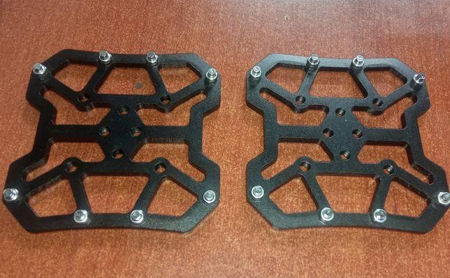 Алюминиевые накладки Clipless на контактные педали