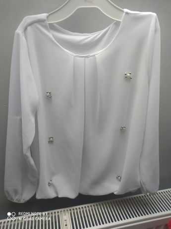 Koszule bluzki bolerko galowe 134-140
