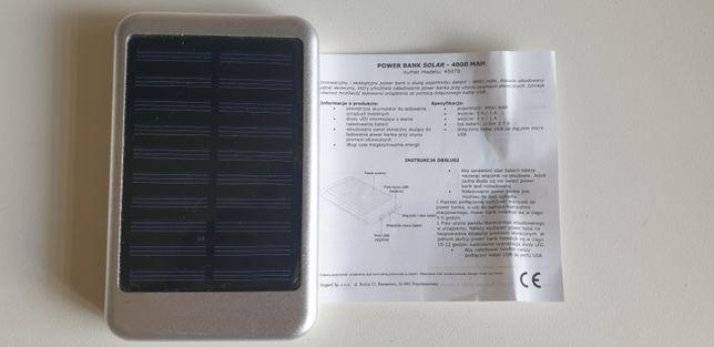 Power Bank Solarny 4000mAh Idealny