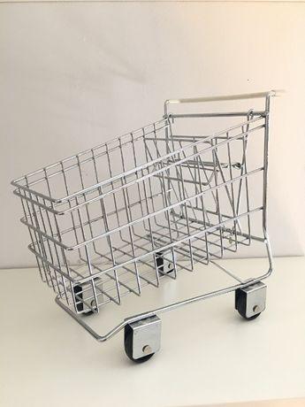 Wózek sklepowy miniaturka koszyk