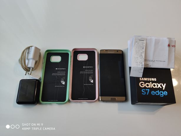 Samsung Galaxy S7 Edge. Gold Platinum. Ideał!