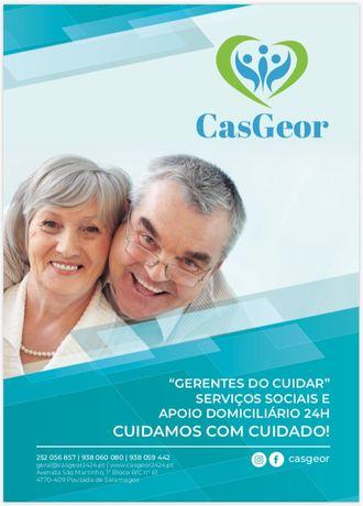 Cuidamos do seu idosos e pessoas com necessidades especiais