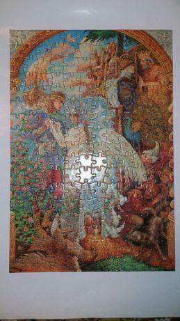 """Пазл """"Сказка о царе Салтане"""" из серии сказки А.С. Пушкина . 1996 г."""