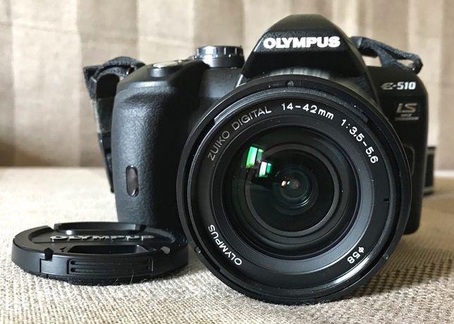ПРОДАЮ дзеркальний фотоапарат Olympus E-510 (із футлярем)