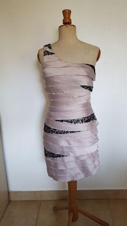 Sukienka Lipsy London rozmiar 10 asymetryczna