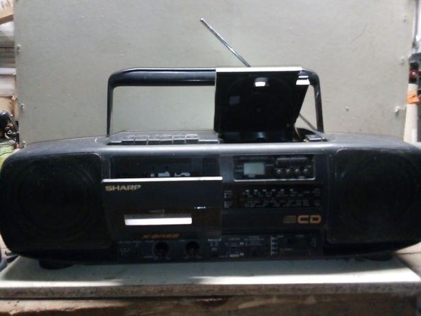 Radiomagnetofon bumbox