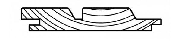 Deska Elewacyjna 2 Romb Świerk Syberyjski