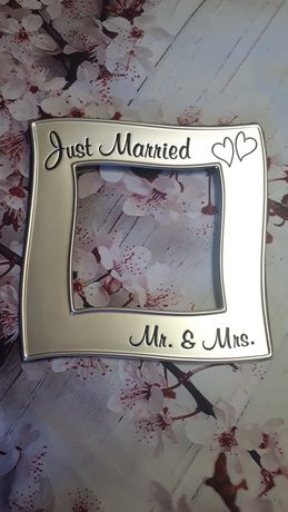 "Рамка для фотографий ""Just Married"""