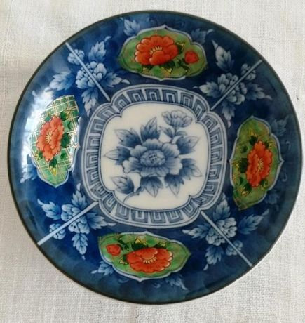 Taça Oriental em Porcelana - Imari