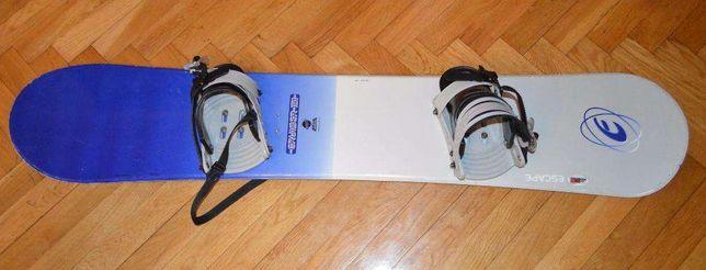 deska snowboardowa CRUISER Escape 151 cm z wiązaniami Crazy Creek