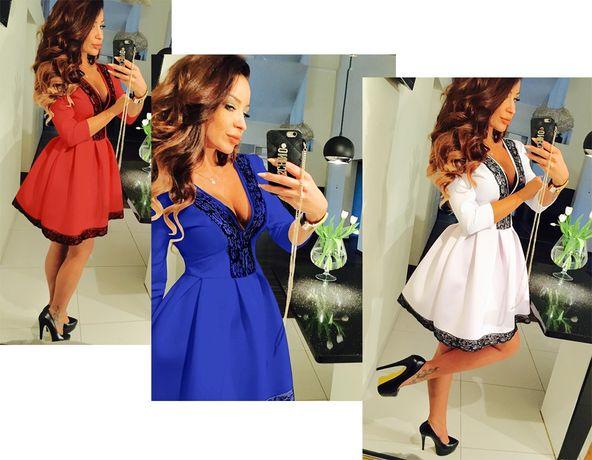 платье купить плаття кружево складка 42-52 р