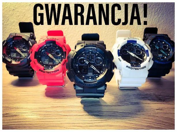 Z Gwarancją 12 m-cy G-Shock Casio NOWE High-End wykonania na prezent !