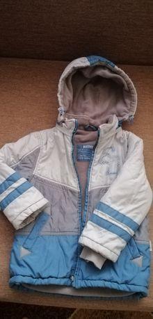 Курточка бемби 98 р для мальчика