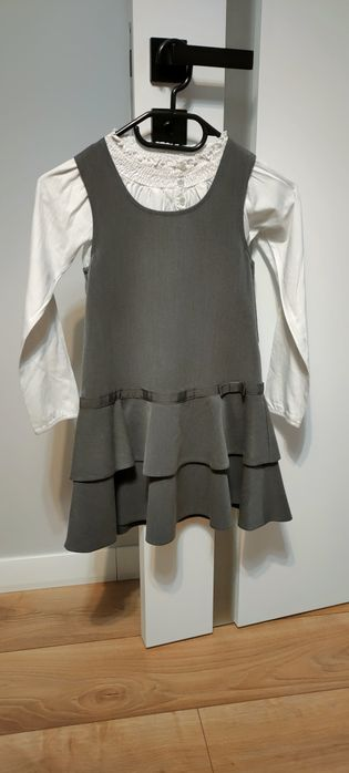 Sukienka szara i bluzeczka Książenice - image 1