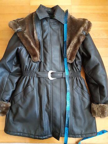 Зимове пальто на дівчинку підлітка, 150 зріст