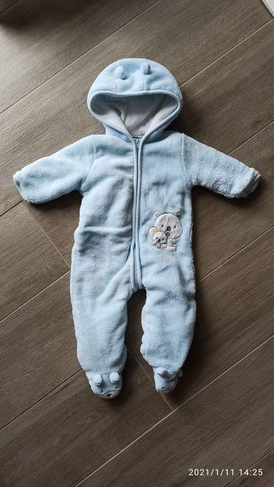 Kombinezon zimowy ciepły niemowlęcy 62 Dąbrowa - image 1