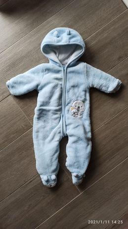 Kombinezon zimowy ciepły niemowlęcy 62