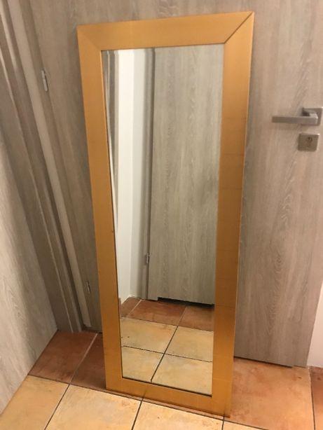 Duże prostokątne lustro