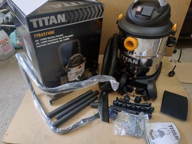 Строительный пылесос Titan 40л