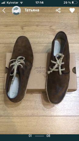 n.d.c. made by hand ботинки продам
