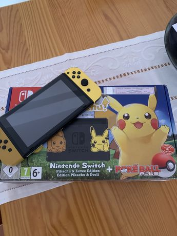 Ningendo Switch Pokemon Edition