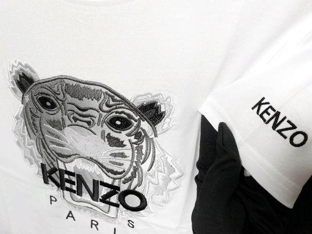 Рефлективная футболка KENZO. Светоотражающая футболка Кензо