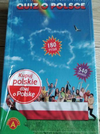 Quiz o Polsce, wersja turystyczna, gra