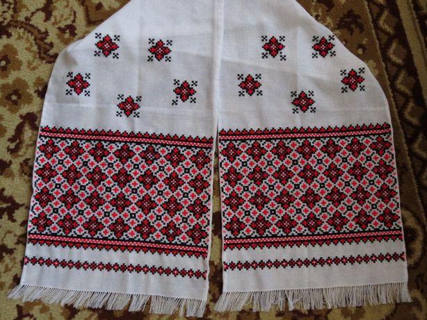 Рушнык вишиванка вишитий народный рушнык полотенце новый