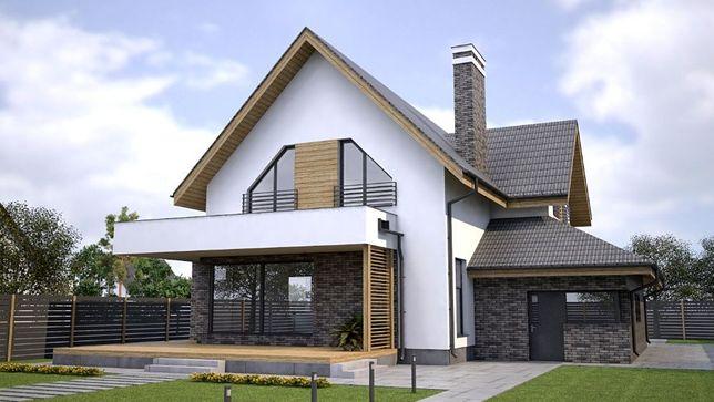 Архитектурное проектирование, проекты домов, 3D модел, визуализация