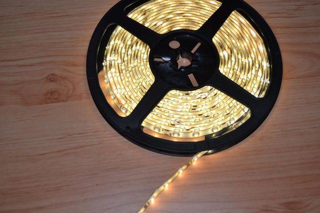 Fita de Leds - LED - Amarelo - Amarela -5 Metros - Resistente á Água