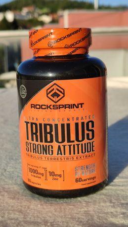Tribulus Strong Attitude ROCKSPRINT 60 Comprimidos NOVO e SELADO
