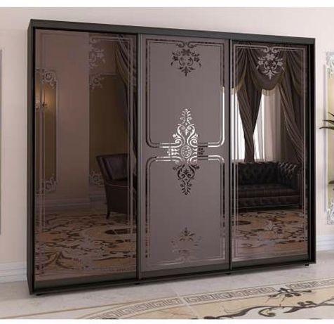 Шкаф купе с бронзовыми зеркалами