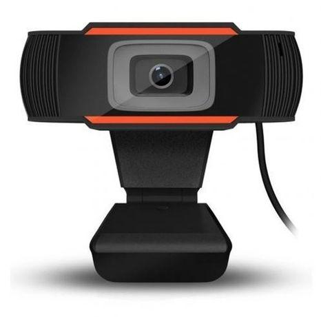 1080p Camara Webcam com microfone Plug and Play USB