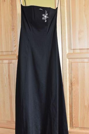 suknia wieczorowa czarna r. 38 Sylwester, Studniówka, Wesele