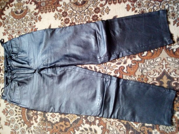 Шкіряні штани жіночі