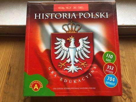 Gra Edukacyjna Historia Polski Quiz nowa zapakowana